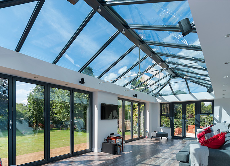 Your orangery needs to be a comfortable living space...