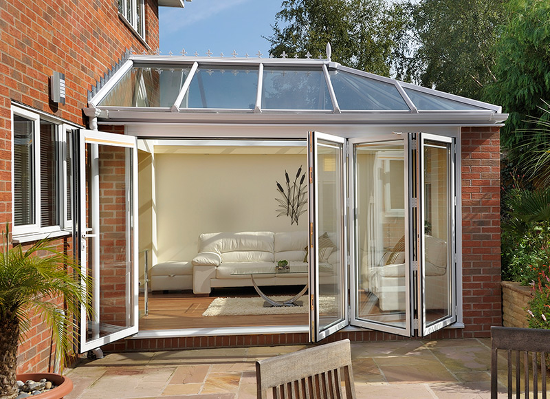 Connect your orangery to the great outdoors...